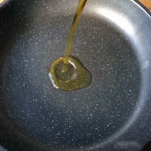 Add olive oil (or any other cooking you use) to the cooking pot