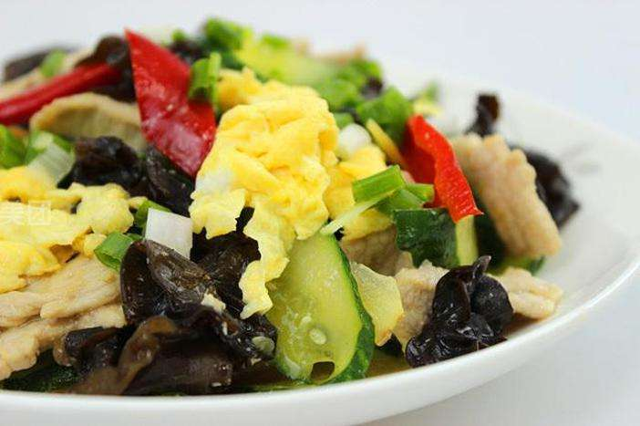Chinese Moo Shu Vegetable and Chicken