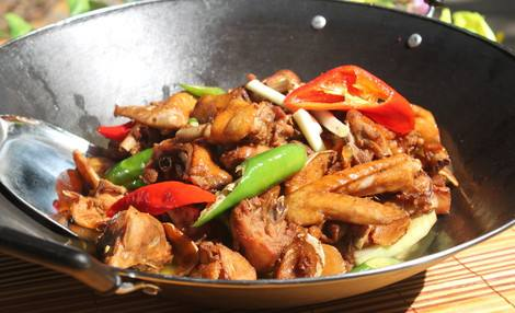 Traditional Chinese Stir Fry Chicken Recipe