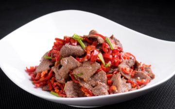 Home-Made Mouth-Watering Hunan Beef Recipe