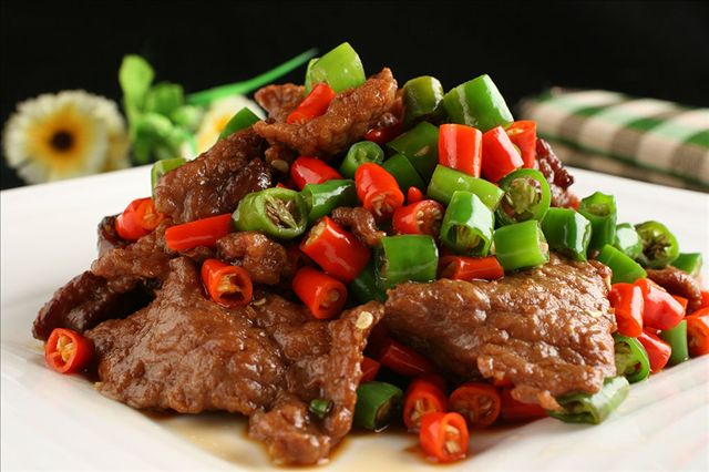 Hunan beef will have you tasting the pepper in all its glory