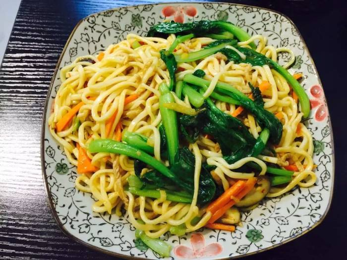 Low Sodium Vegetable Chow Mein Recipe