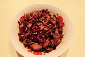 The Spicy Cold Eating Rabbit Meat