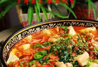 the spicy and appetizing tofu pudding chicken.