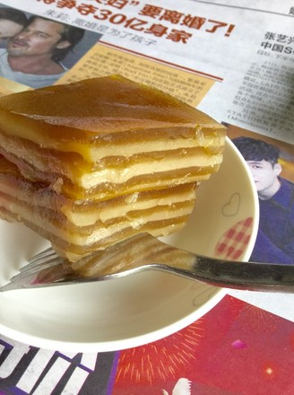 The Traditional Southern China Dessert-The Water Chestnut Cake