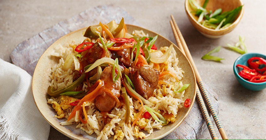 Hot and Sour Pork and Pepper Stir Fry