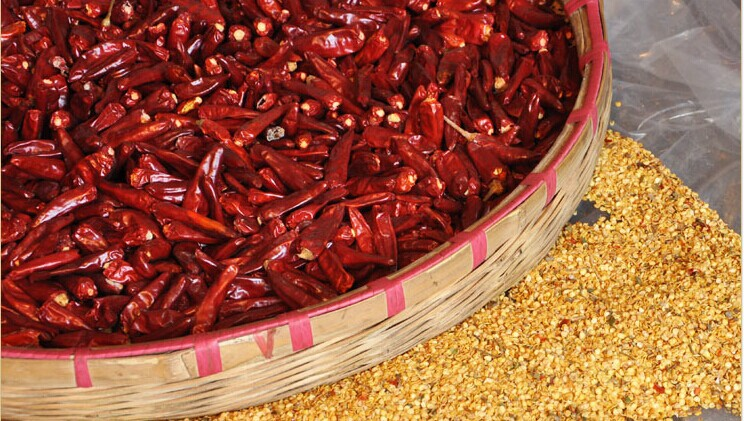 Sichuan chili peppers