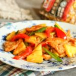 The Sweet and Sour Pork with Pineapple As One Of The Most Familiar Chinese Dishes in Europe and America,